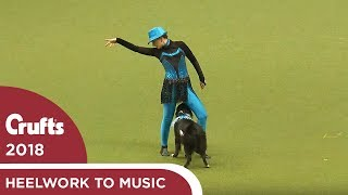 Heelwork to Music  Freestyle International Competition Part 2 | Crufts 2018
