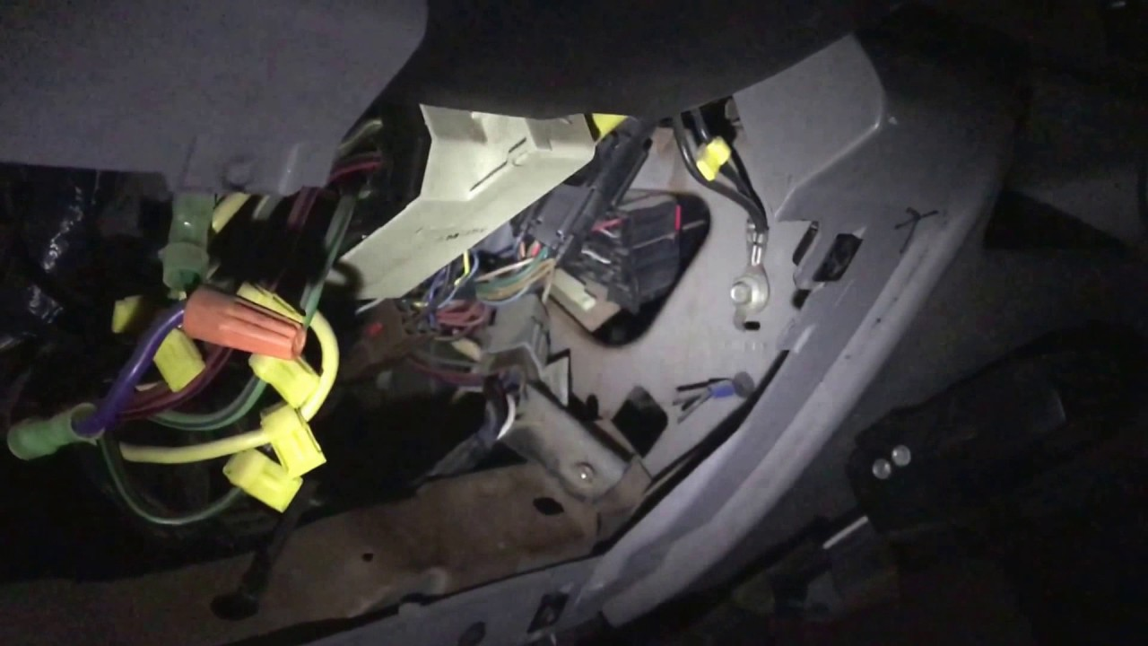 Replace Turn Signal Relay  1999 F350  YouTube