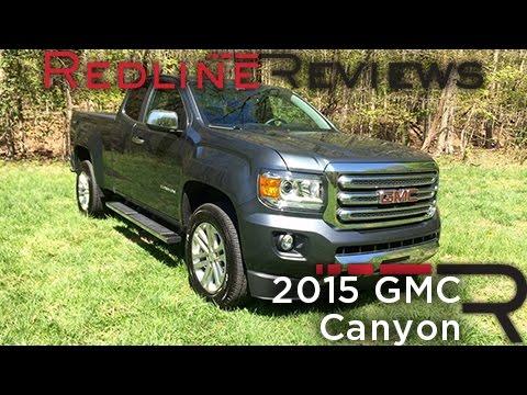 2015 GMC Canyon – Redline: Review