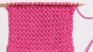 Тканный узор или «Мелкая плетенка»