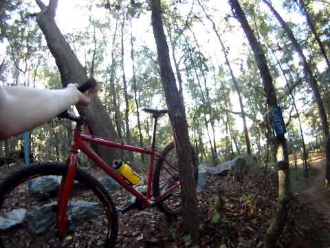 tom brown mountain bike trails dragons teeth and drop