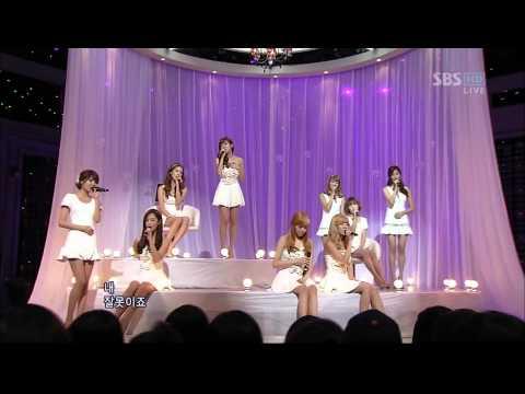 [인기가요] 소녀시대(SNSD) - 내 잘못이죠(101031)