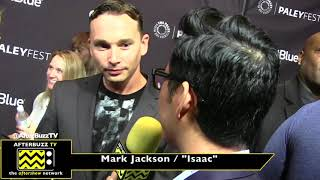 "Mark Jackson on playing the character Isaac in ""The Orville""."