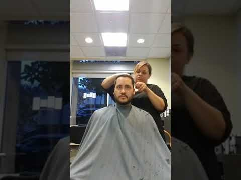 NoHo Hair Salon - Stylist Annette gives Jeremy a Cut and Treatment