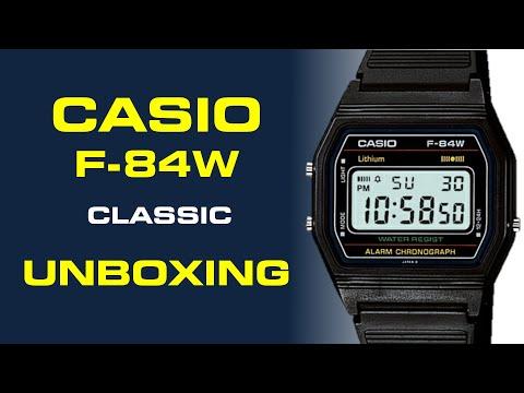 Casio Classic F-84W Unboxing