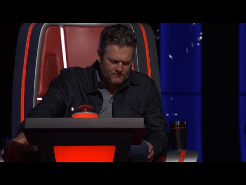 Michael J. - Was Blake Shelton almost to tears with this emotional story?