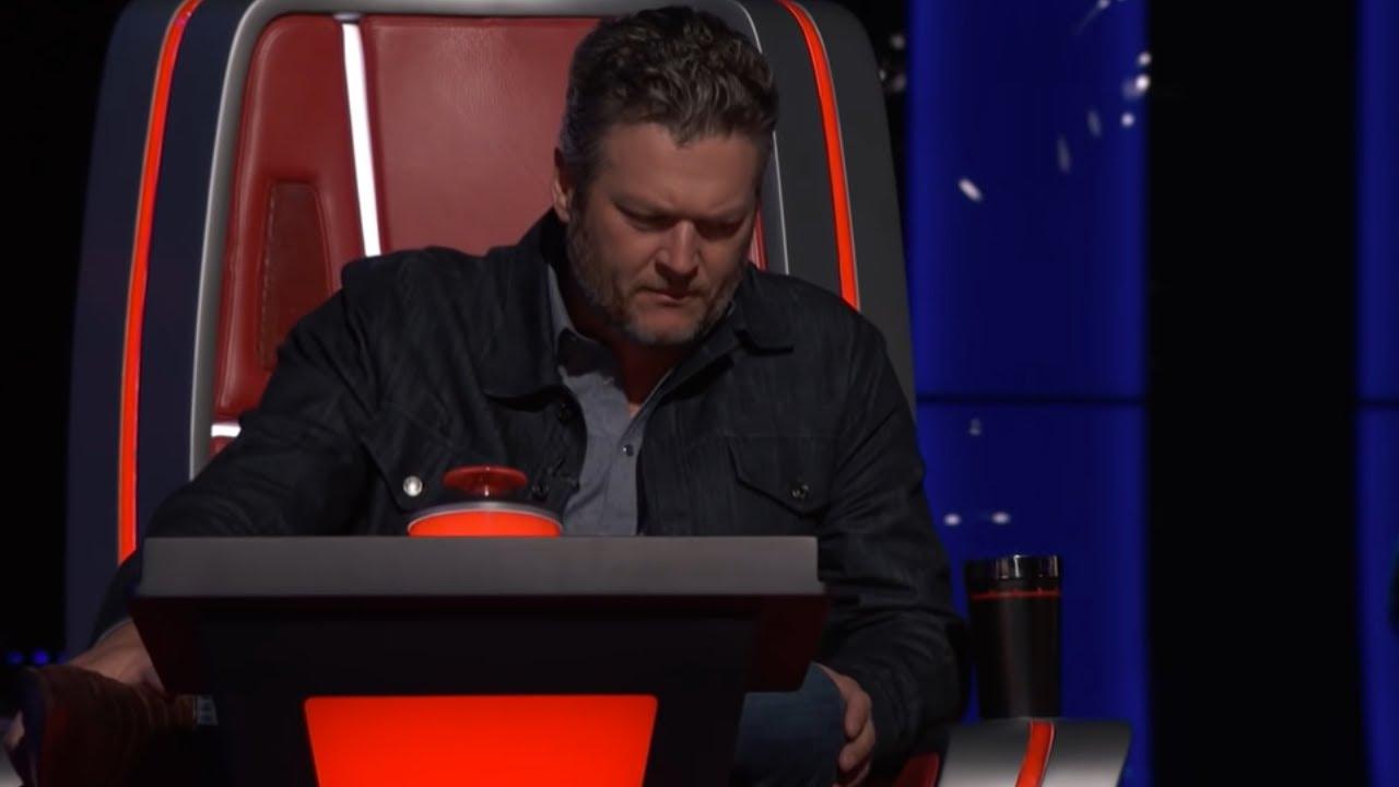 Blake Shelton Gets Emotional On The Voice With Heartfelt Speech