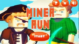 MINER RUN GAME WALKTHROUGH | RUNNING GAMES