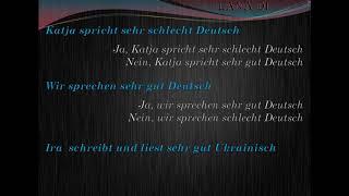Німецька мова українською. Урок 28. der Freund, die Freundin, sehr