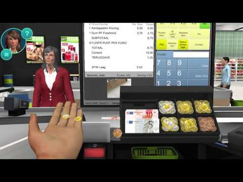 Trailer new Cashier Trainer supermarket