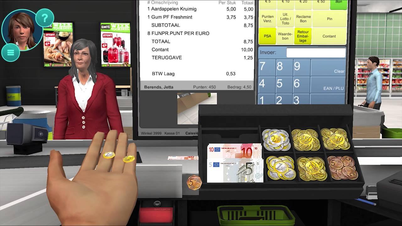 Trailer New Cashier Trainer Supermarket