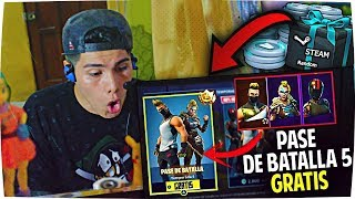 COMMENT AVOIR LE 5 BATTLE PASS IN FORTNITE GRATUIT (100% LEGAL METHOD)