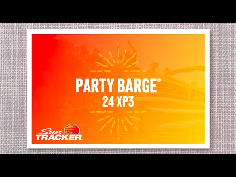 Sun Tracker Party Barge 24 XP3 video
