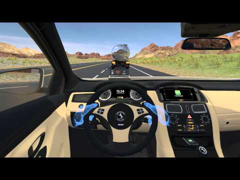 Continental's Virtual Cockpit at the IAA 2015