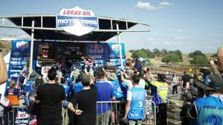 A unique look at the opening round of Lucas Oil Pro Motocross.