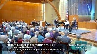 Danish String Quartet: Beethoven's String Quartet in C# minor, Op. 131