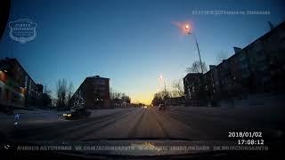 02.01.2018 Момент аварии на пр. Лапенкова