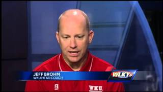 Jeff Brohm talks about team, upcoming season
