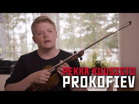 Pekka Kuusisto on Prokofiev's First Violin Concerto (Philharmonia Orchestra)