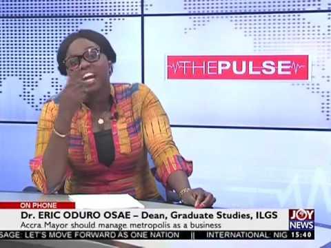 Accra Mayor - The Pulse on Joy News (2-1-17)