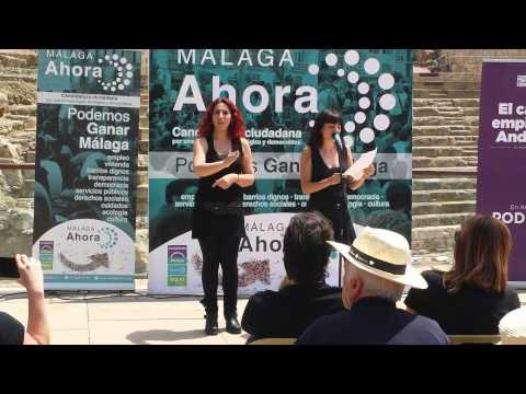 Intérpretes LSE de Instituto en Málaga reivindican sus condiciones laborales