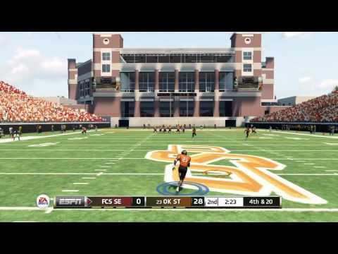 Barry Sanders - 10TDs, 600+yds - NCAA Football 13 Heisman Challenge Gameplay