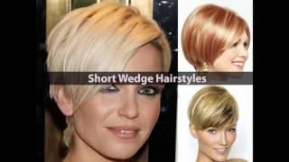 Short wedge haircut styles