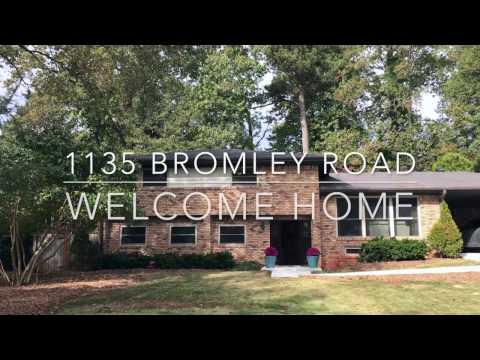 New to Market - 1135 Bromley Road - Avondale Estates - Georgia