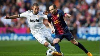 Barcelona vs real madrid 2-2 la liga 2012/13 v...