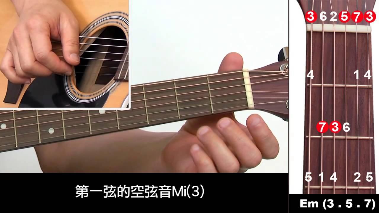 吉他入門免費教學10: 什麼是C大調第三級和弦? - YouTube