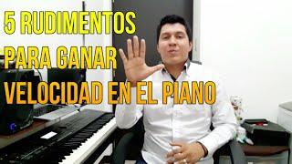 Cómo ganar VELOCIDAD y PRECISION en el Piano