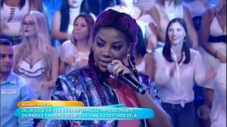 Ludmilla agita a plateia com sucesso Sou Eu