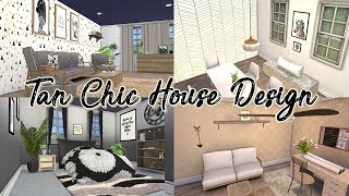 Tan Chic House Design | GothicNekoGamer