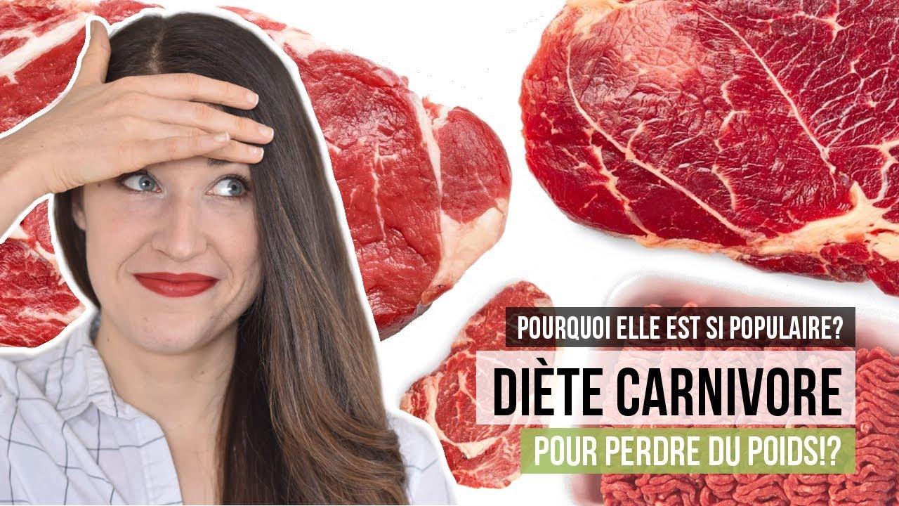 Manger de la viande à tous les repas pour perdre du poids? | LA DIÈTE CARNIVORE #Regime