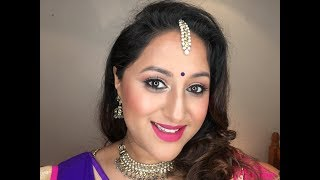 Quick & easy Garba Makeup I Chatty video ** B Beautiful by Binita **