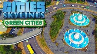 Развязки - какая эффективнее, круг или гекс?   Cities Skylines #13