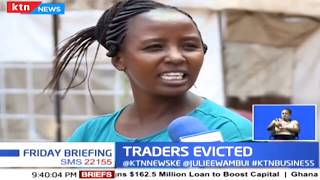Nairobi traders evicted from the CBD