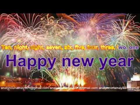 auld lang syne 2017 A New Years Remix  Lyrics Maria Carey videoke