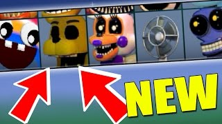 FNAF WORLD UPDATE 3 SECRET CHARACTERS New Characters Gameplay 1 Fanmade