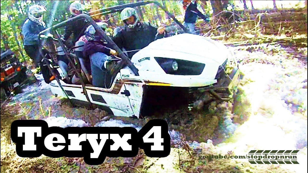Kawasaki Teryx 4 Seater Mudding Atv 4x4 Youtube