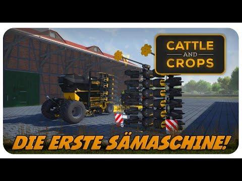 DIE ERSTE SÄMASCHINE! HAMMER! | Cattle and Crops