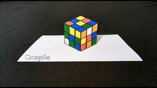 Video Belajar Cara Menggambar Rubik 3D Sangat Mudah download MP3, 3GP, MP4, WEBM, AVI, FLV September 2018