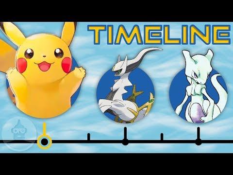 The Complete Pokemon Timeline...So Far | The Leaderboard