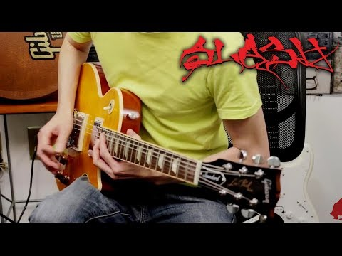 Anastasia Guitar Solo Cover | Slash | Gibson Les Paul Standard