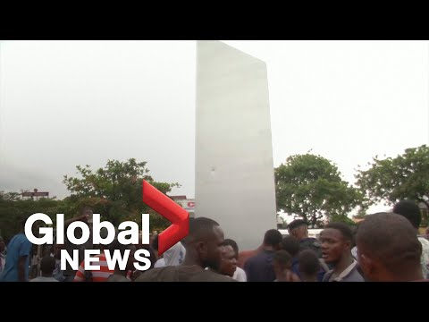 """""""Extraordinary:"""" Mysterious monolith appears in Democratic Republic of Congo"""
