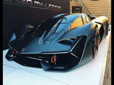 new lamborghini terzo millennio 2018 world premiere youtube. Black Bedroom Furniture Sets. Home Design Ideas