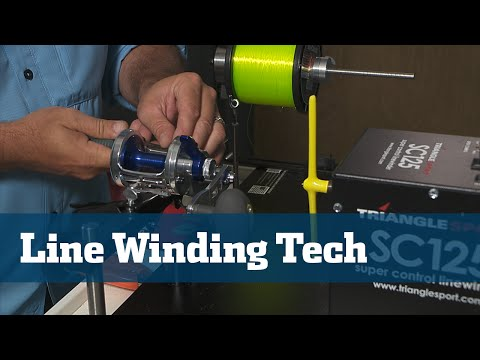 Florida Sport Fishing TV - Gear Guide Benefits & Value of Line Winding Machine