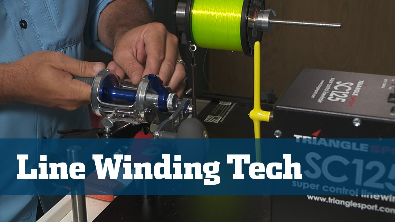 Florida sport fishing tv gear guide benefits value of for Fishing line winder machine