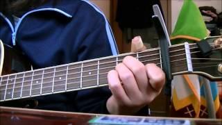 左手親指を負傷中! でも、どうしてもギターが弾きたくて痛いのを我慢(T_T) しかし、セーハするコードは親指の負担が大きすぎるので あんまり出...