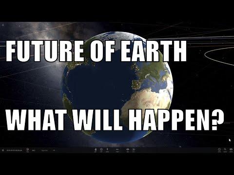 The Future of Earth - Sun as a White Dwarf - Universe Sandbox 2